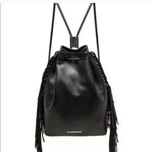 Victoria 's secret fringe backpack